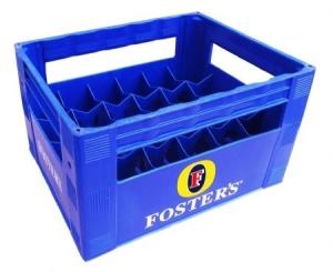 Két bia nhựa 20 chai Foster's cao cấp Phú Hòa An