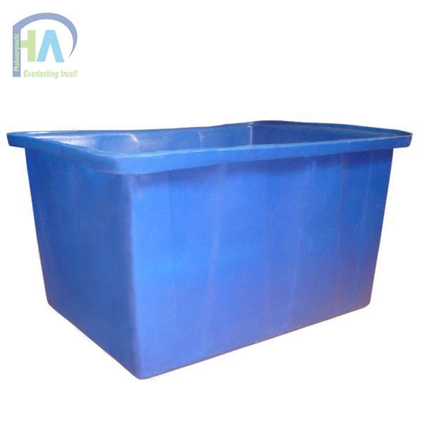 Thùng nhựa chữ nhật dung tích lớn (Thùng nhựa nuôi cá) 700 lít