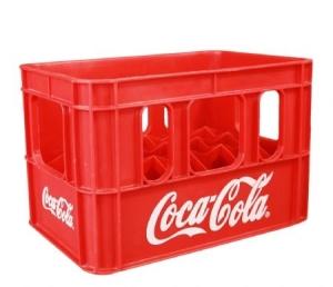 Két bia nhựa 24 chai Cocacola cao cấp Phú Hòa An