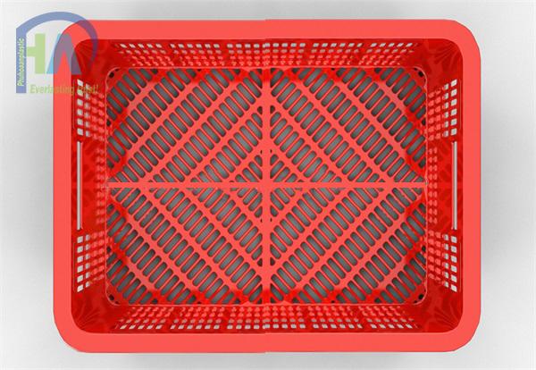 Thùng nhựa rỗng (sóng nhựa hở) HS018 giá rẻ
