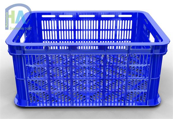 Thùng nhựa rỗng (sóng nhựa hở) HS018 chất lượng cao