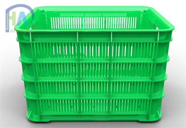 Thùng nhựa rỗng (sóng nhựa hở) HS012 cao cấp