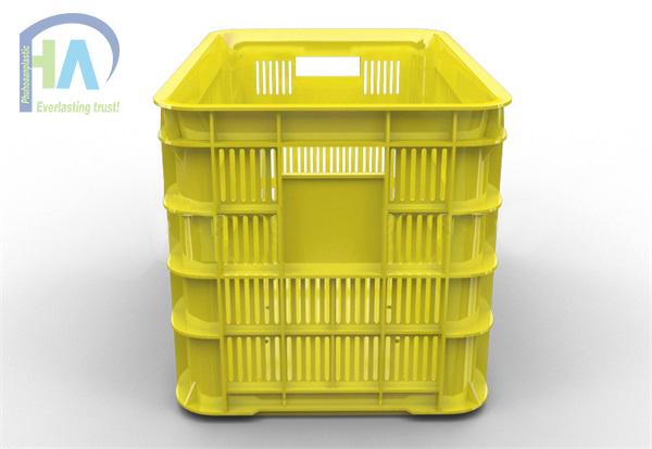 Thùng nhựa rỗng (sóng nhựa hở) HS012 giá rẻ nhất thị trường