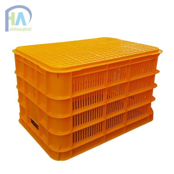 Thùng nhựa rỗng (sóng nhựa hở) HS012 giá rẻ