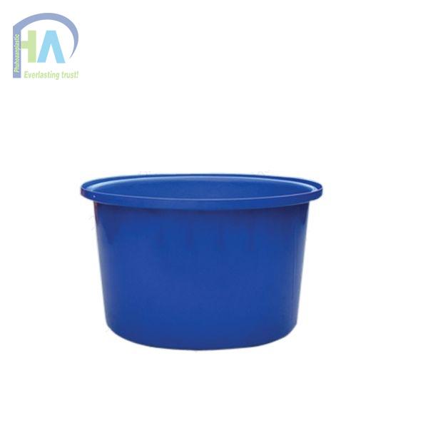 Thanh lý thùng nhựa tròn nuôi cá 500L - Phú Hòa an