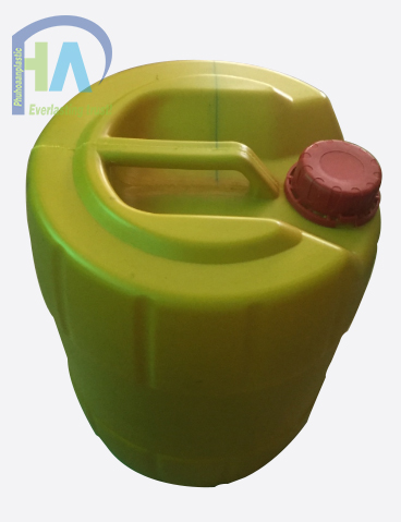 Can nhựa tròn 18 lít chất lượng cao, giá rẻ màu vàng