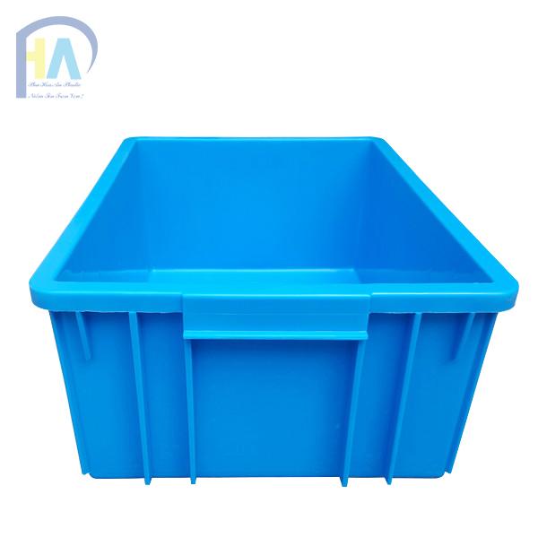 Thùng nhựa đặc B3 có quai xách tiện lợi