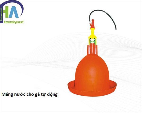 Máng nước cho gà tự động giá rẻ