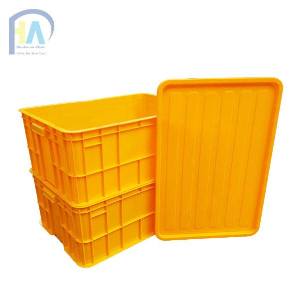 Chuyên Phân Phối thùng nhựa đặc công nghiệp HS017 Phú hòa an