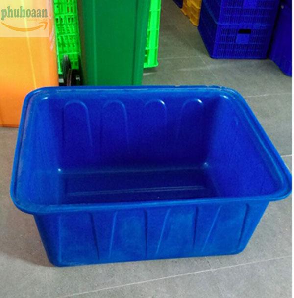 Tổng hợp một số mẫu thùng nhựa nuôi cá nổi bật tại Phú Hòa An