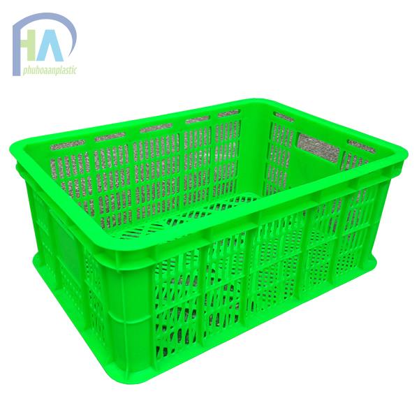 Thùng nhựa rỗng (sóng nhựa hở) HS018 giá ưu đãi